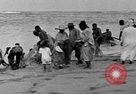 Image of Native fishermen Hawaii USA, 1916, second 32 stock footage video 65675071578