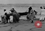 Image of Native fishermen Hawaii USA, 1916, second 34 stock footage video 65675071578