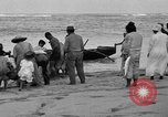 Image of Native fishermen Hawaii USA, 1916, second 39 stock footage video 65675071578
