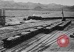 Image of Hoover Dam construction progress in 1934 United States USA, 1934, second 22 stock footage video 65675071603