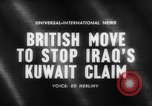 Image of British troops Kuwait, 1961, second 3 stock footage video 65675071616