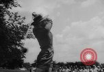 Image of golf Michigan United States USA, 1958, second 9 stock footage video 65675071625