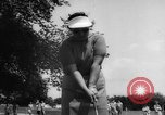 Image of golf Michigan United States USA, 1958, second 12 stock footage video 65675071625