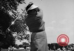 Image of golf Michigan United States USA, 1958, second 15 stock footage video 65675071625