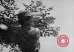 Image of golf Michigan United States USA, 1958, second 20 stock footage video 65675071625