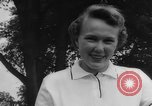 Image of golf Michigan United States USA, 1958, second 62 stock footage video 65675071625