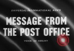 Image of Post Office Department United States USA, 1958, second 3 stock footage video 65675071627