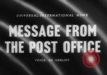 Image of Post Office Department United States USA, 1958, second 4 stock footage video 65675071627