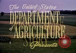 Image of agriculture United States USA, 1956, second 38 stock footage video 65675071647