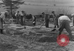 Image of completes graves Germany, 1945, second 6 stock footage video 65675071657