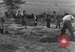 Image of completes graves Germany, 1945, second 7 stock footage video 65675071657