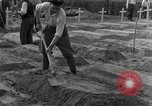 Image of completes graves Germany, 1945, second 20 stock footage video 65675071657