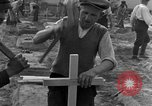 Image of completes graves Germany, 1945, second 35 stock footage video 65675071657