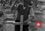 Image of completes graves Germany, 1945, second 36 stock footage video 65675071657