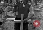 Image of completes graves Germany, 1945, second 37 stock footage video 65675071657
