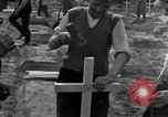 Image of completes graves Germany, 1945, second 38 stock footage video 65675071657