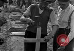 Image of completes graves Germany, 1945, second 39 stock footage video 65675071657