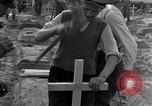 Image of completes graves Germany, 1945, second 40 stock footage video 65675071657