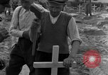 Image of completes graves Germany, 1945, second 41 stock footage video 65675071657