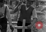 Image of completes graves Germany, 1945, second 42 stock footage video 65675071657