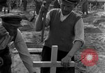 Image of completes graves Germany, 1945, second 43 stock footage video 65675071657