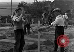 Image of completes graves Germany, 1945, second 46 stock footage video 65675071657
