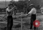 Image of completes graves Germany, 1945, second 50 stock footage video 65675071657