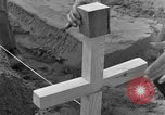 Image of completes graves Germany, 1945, second 61 stock footage video 65675071657