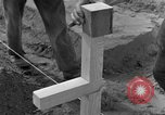 Image of completes graves Germany, 1945, second 62 stock footage video 65675071657