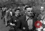 Image of burial service Germany, 1945, second 14 stock footage video 65675071658
