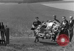 Image of burial service Germany, 1945, second 19 stock footage video 65675071658