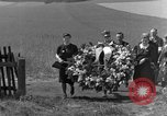 Image of burial service Germany, 1945, second 20 stock footage video 65675071658