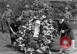 Image of burial service Germany, 1945, second 43 stock footage video 65675071658