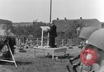 Image of burial service Germany, 1945, second 49 stock footage video 65675071658