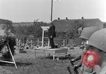 Image of burial service Germany, 1945, second 51 stock footage video 65675071658