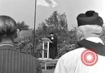 Image of burial service Germany, 1945, second 6 stock footage video 65675071659