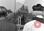 Image of burial service Germany, 1945, second 7 stock footage video 65675071659