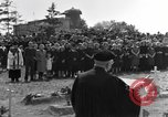 Image of burial service Germany, 1945, second 17 stock footage video 65675071659