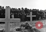Image of burial service Germany, 1945, second 23 stock footage video 65675071659