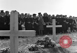 Image of burial service Germany, 1945, second 27 stock footage video 65675071659