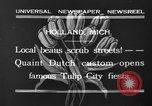 Image of tulip time Holland Michigan USA, 1932, second 5 stock footage video 65675071662
