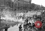 Image of tulip time Holland Michigan USA, 1932, second 18 stock footage video 65675071662