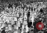 Image of tulip time Holland Michigan USA, 1932, second 33 stock footage video 65675071662