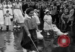 Image of tulip time Holland Michigan USA, 1932, second 55 stock footage video 65675071662
