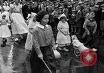 Image of tulip time Holland Michigan USA, 1932, second 56 stock footage video 65675071662