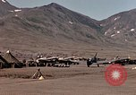Image of P-40E aircraft Aleutian Islands, 1943, second 19 stock footage video 65675071666