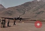 Image of P-40E aircraft Aleutian Islands, 1943, second 50 stock footage video 65675071666