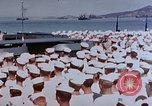 Image of Change of Command ceremony aboard battleship Pacific Theater, 1944, second 14 stock footage video 65675071668