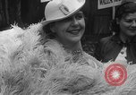 Image of fan dancers San Diego California USA, 1936, second 24 stock footage video 65675071671