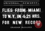 Image of Howard Hughes New York United States USA, 1936, second 5 stock footage video 65675071674